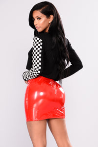 Boot Camp Skirt - Red