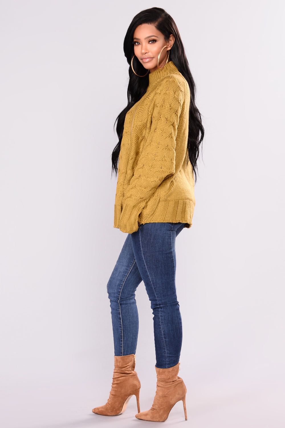 Monika Sweater - Mustard