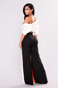 Loretta Pants - Black/Multi