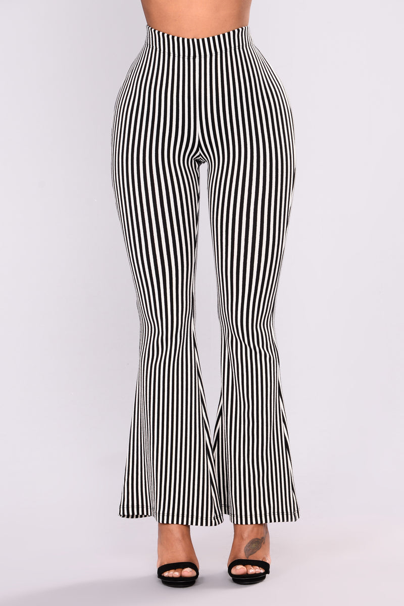 Retha Pants - Black/White