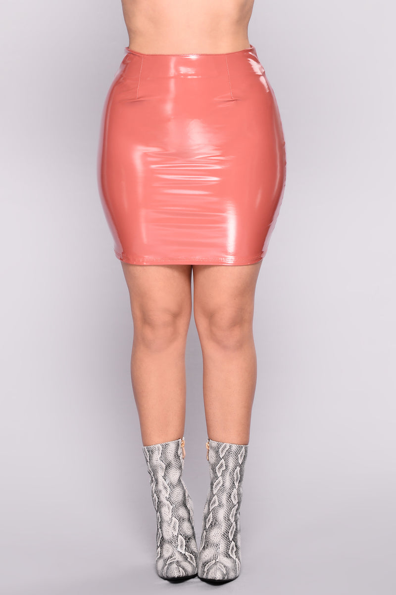 Boot Camp Skirt - Mauve