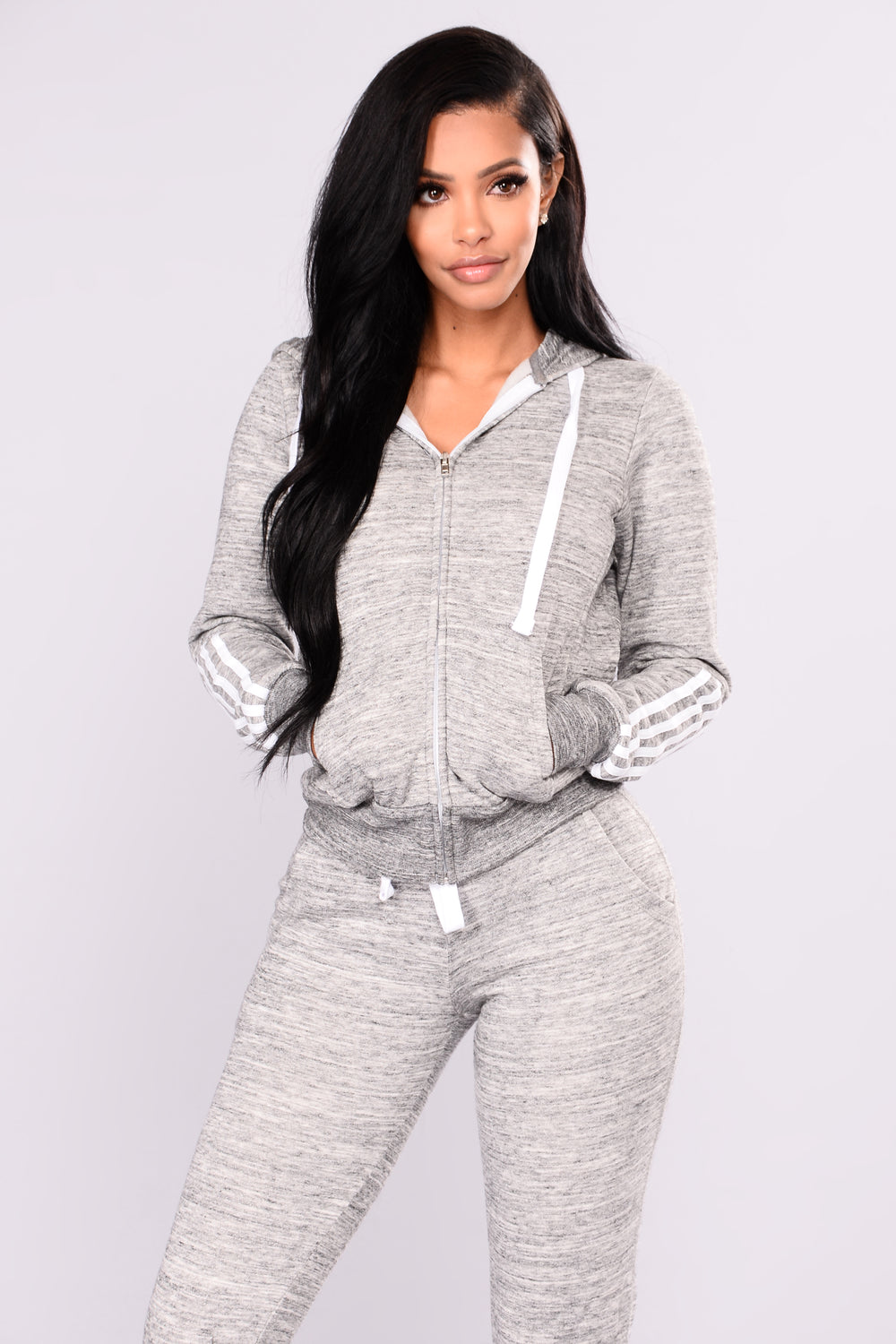 Lover Lounge Hoodie - Charcoal