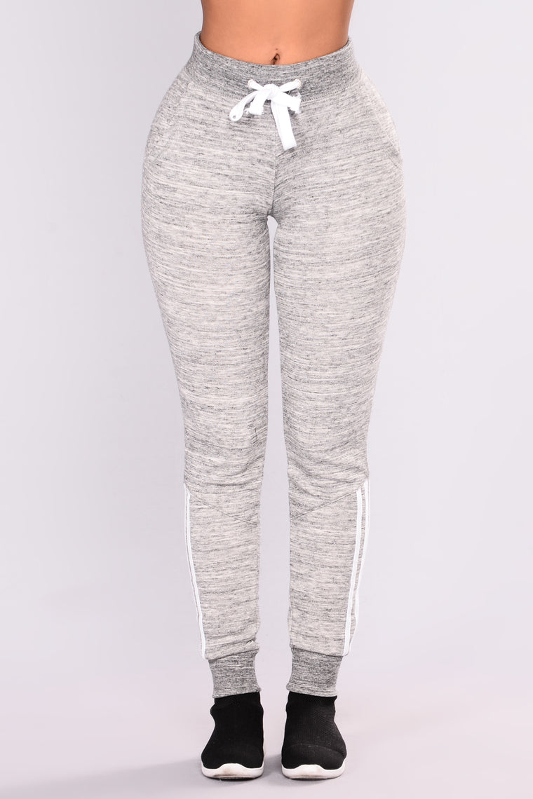 Lover Lounge Jogger - Charcoal