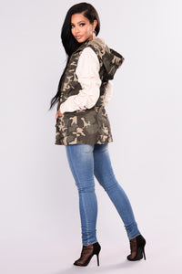 In Love And War Camo Vest - Camo