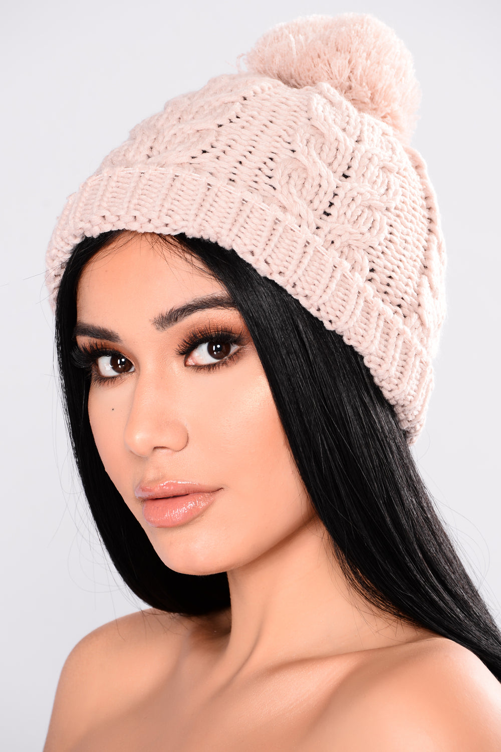 Knit It To Me Beanie - Pink
