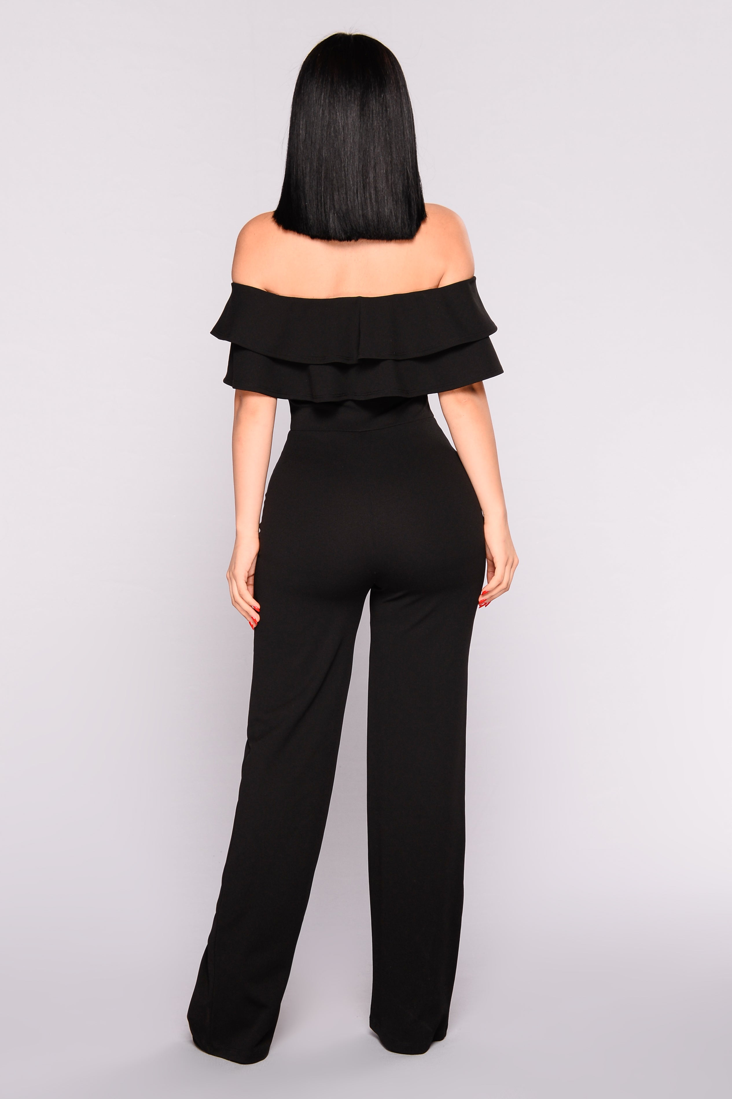 e3ad69026a4 Ready To Ruffle Jumpsuit - Black