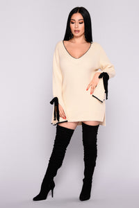 Piazza Bell Sleeve Sweater - Ivory