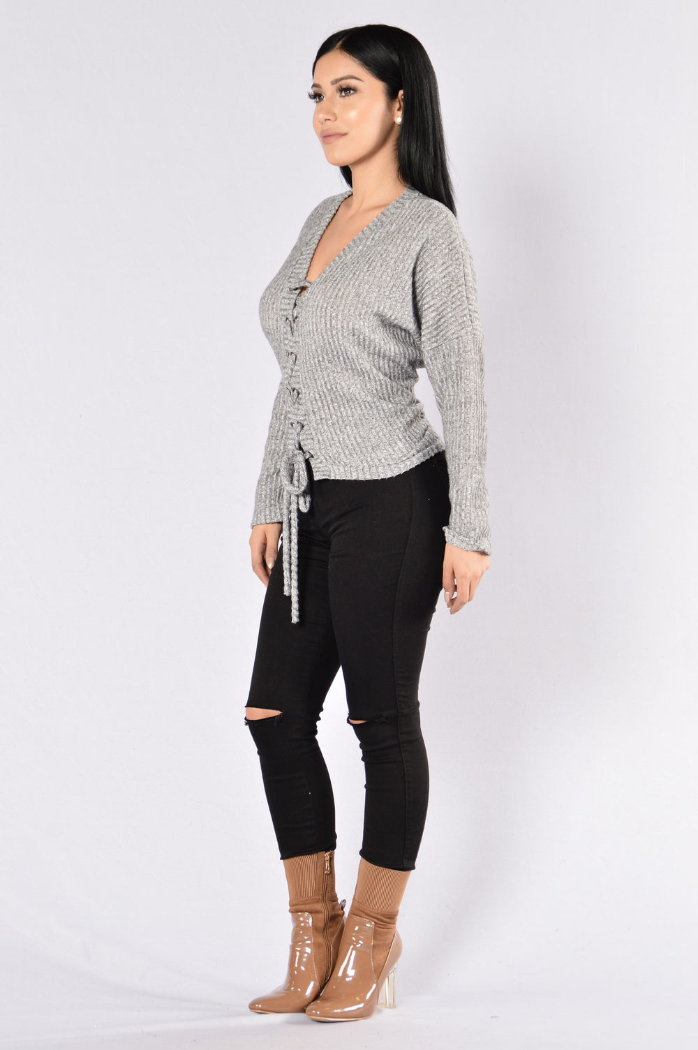 Your Favorite Thing Sweater - Heather Grey