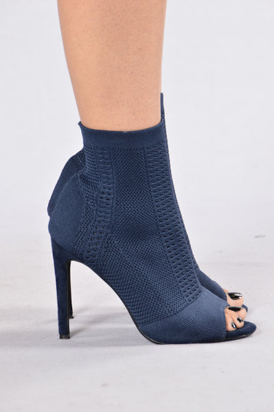 Darling Nikki Boot - Navy