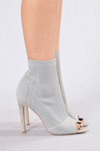 Darling Nikki Boot - Grey