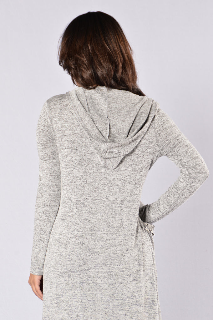 By The Fire Hoodie - Grey