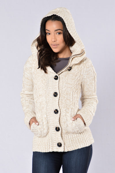 Cold Nights Jacket - Taupe