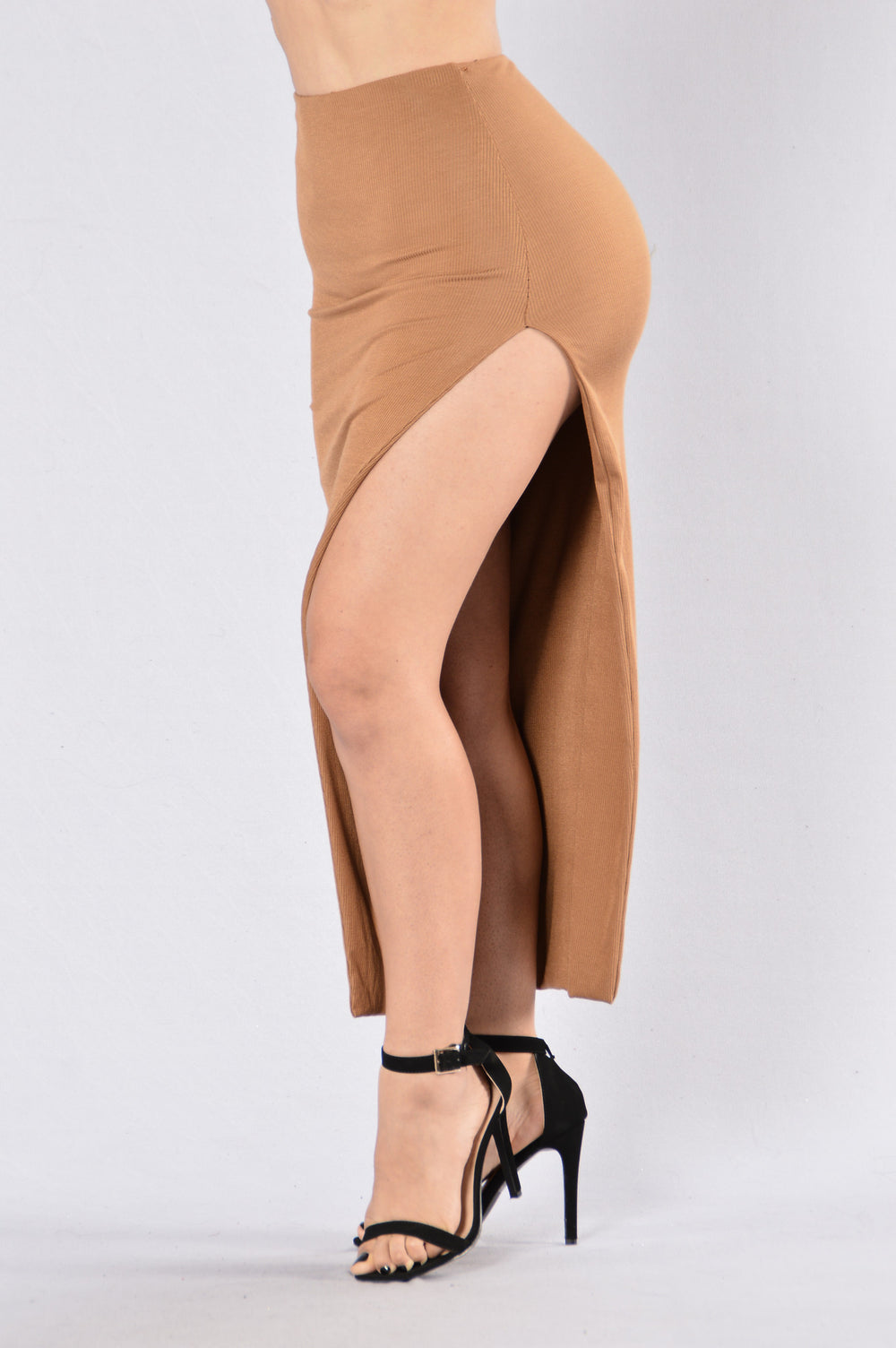 Float On Skirt - Camel