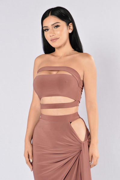 Love Like War Top - Mauve