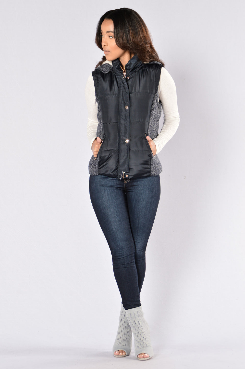 Weekend In The Snow Jacket - Navy