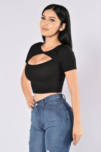 Sweet Tooth Top - Black