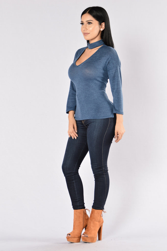 Lizette Sweater - Blue