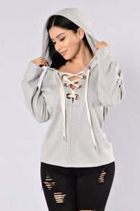 Close To You Sweater - Heather Grey