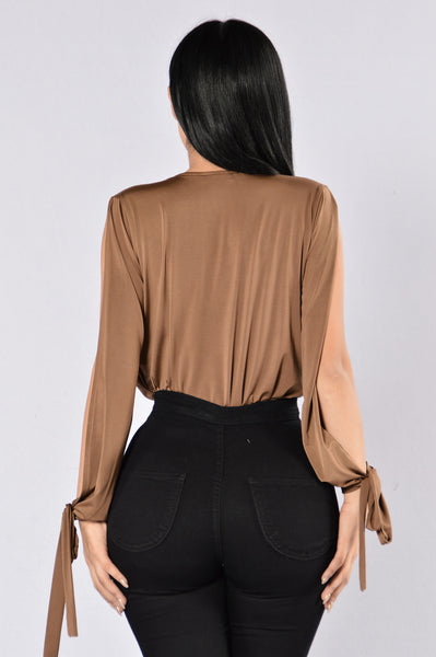 Cut Me Deep Bodysuit - Copper