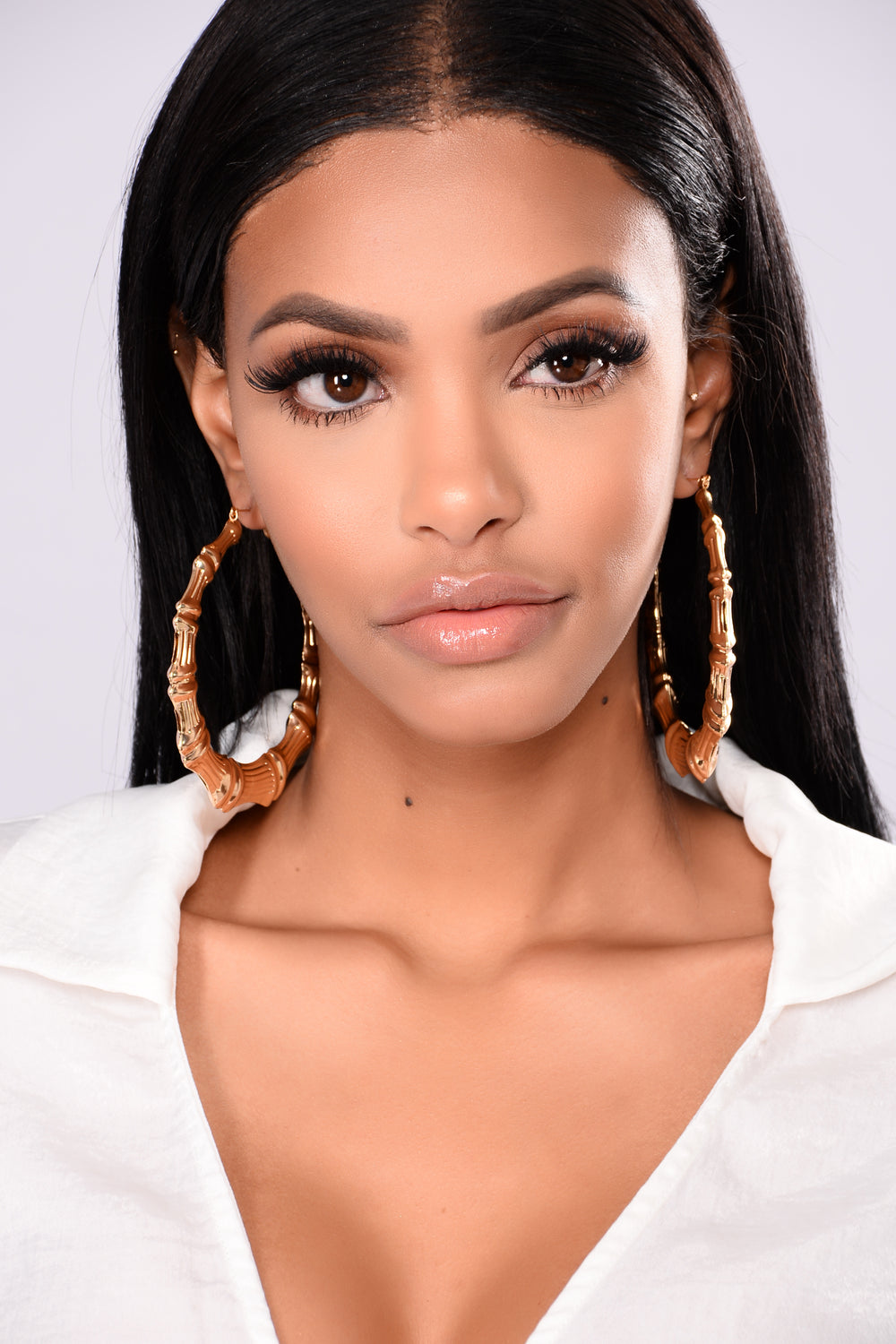 Adanna Hoop Earrings - Gold