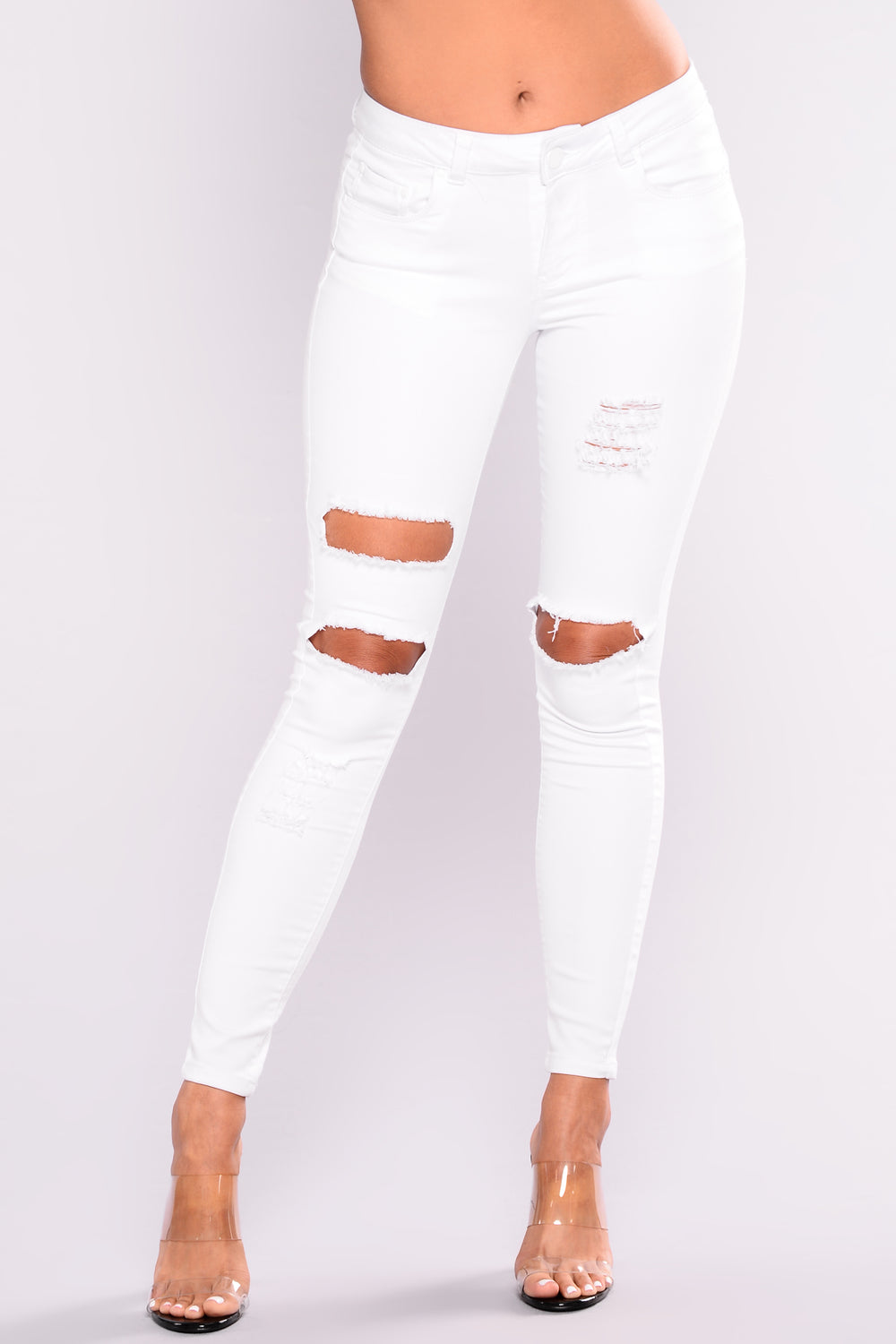 Moody Booty Lifting Jeans - White
