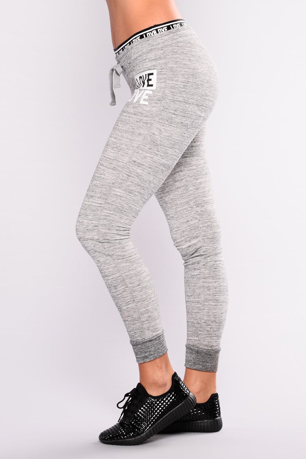 Be My Lover Jogger - Charcoal
