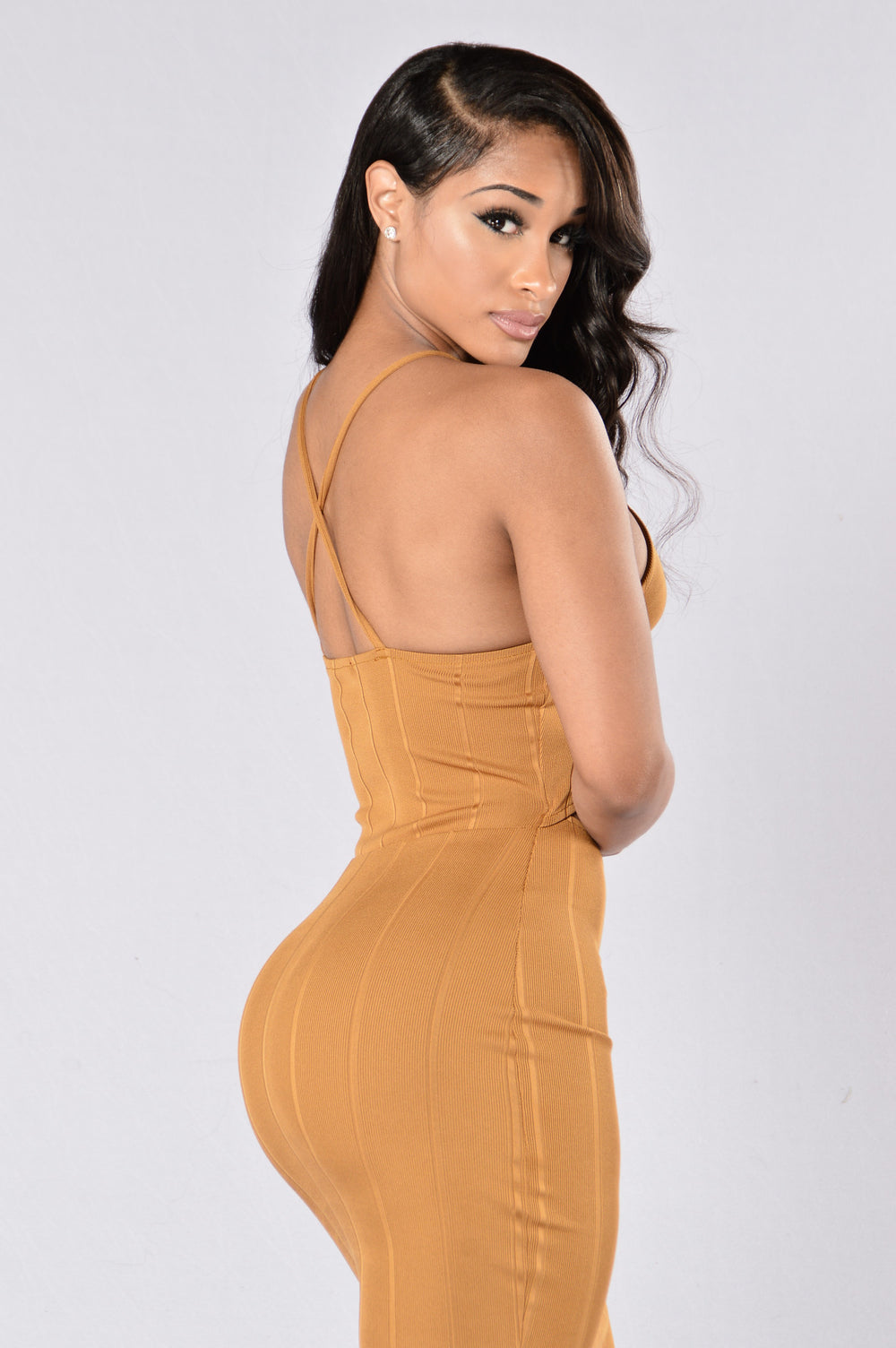 Own It Dress - Mustard