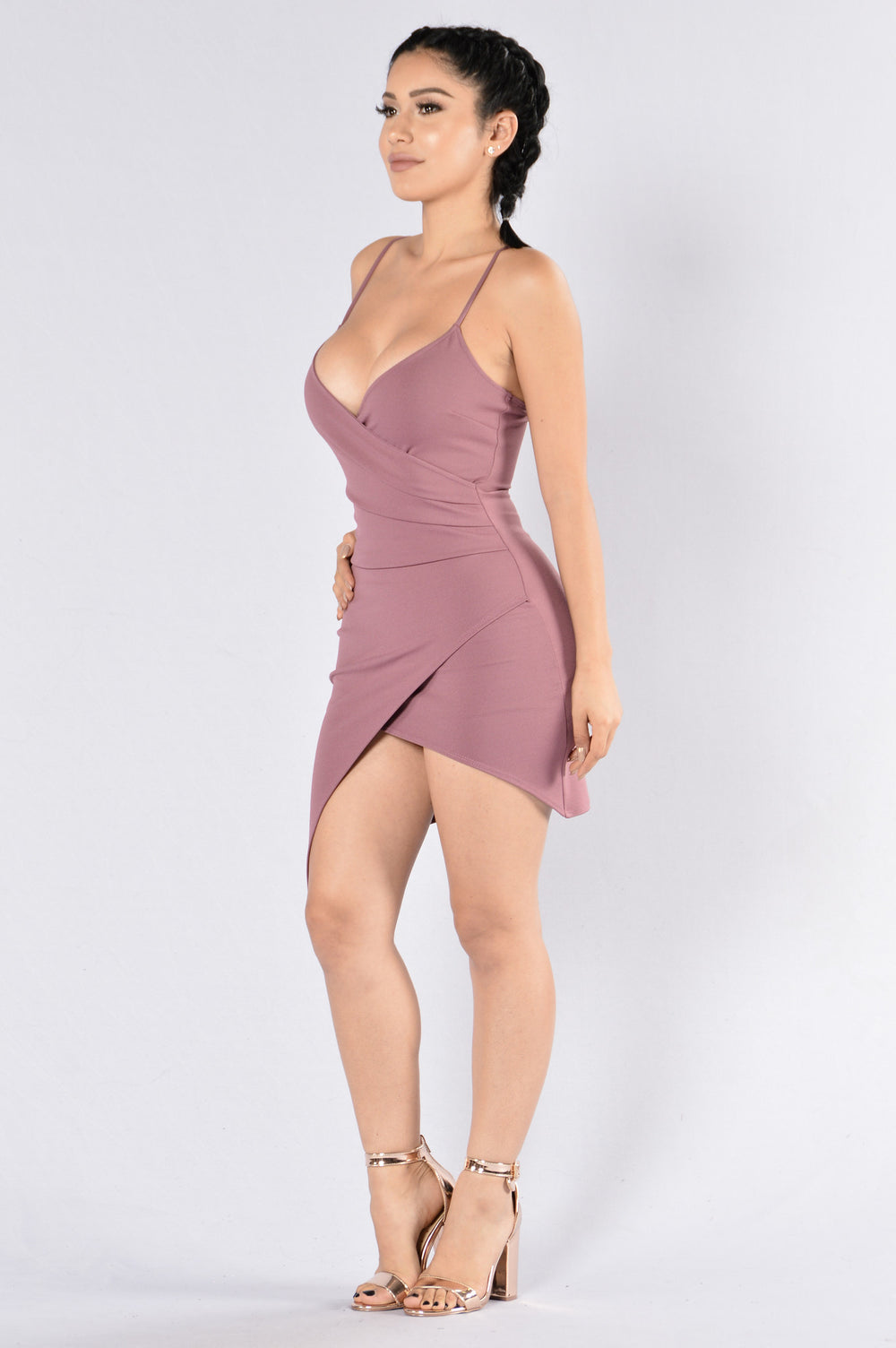 What You Want Dress - Mauve