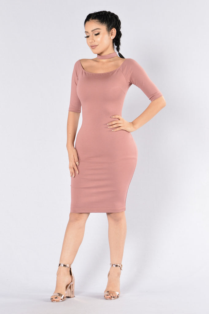 Ju Ju On That Dress - Mauve