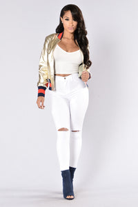 Foxxy Jacket - Gold