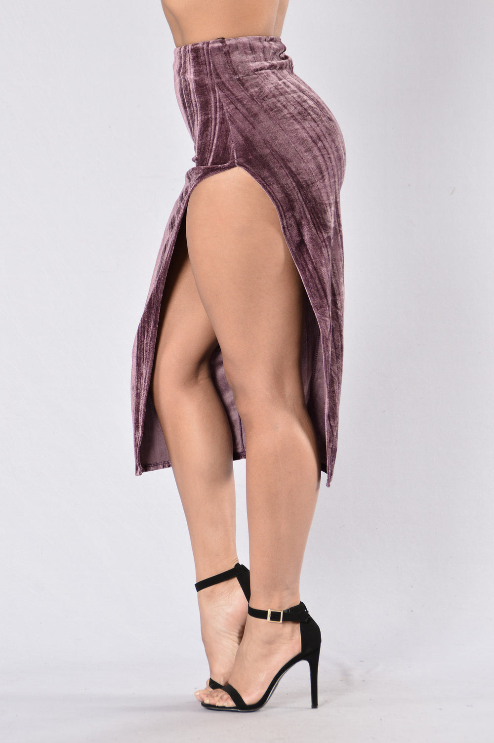 Say Something Skirt - Purple