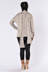 You Know You Want To Cardigan - Grey