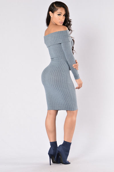 Kenny Dress - Slate Grey