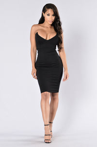 House Of Love Dress - Black
