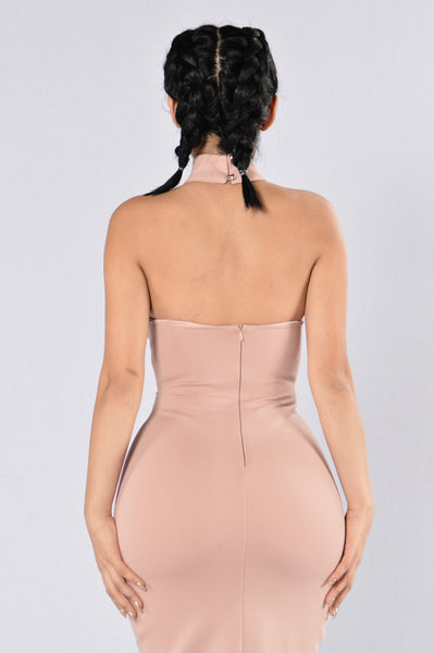 Out With The Girls Dress - Mauve