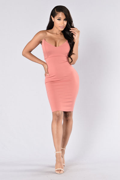 House Of Love Dress - Cinnamon