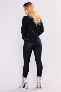 All Star Skinny Jeans - Dark Denim