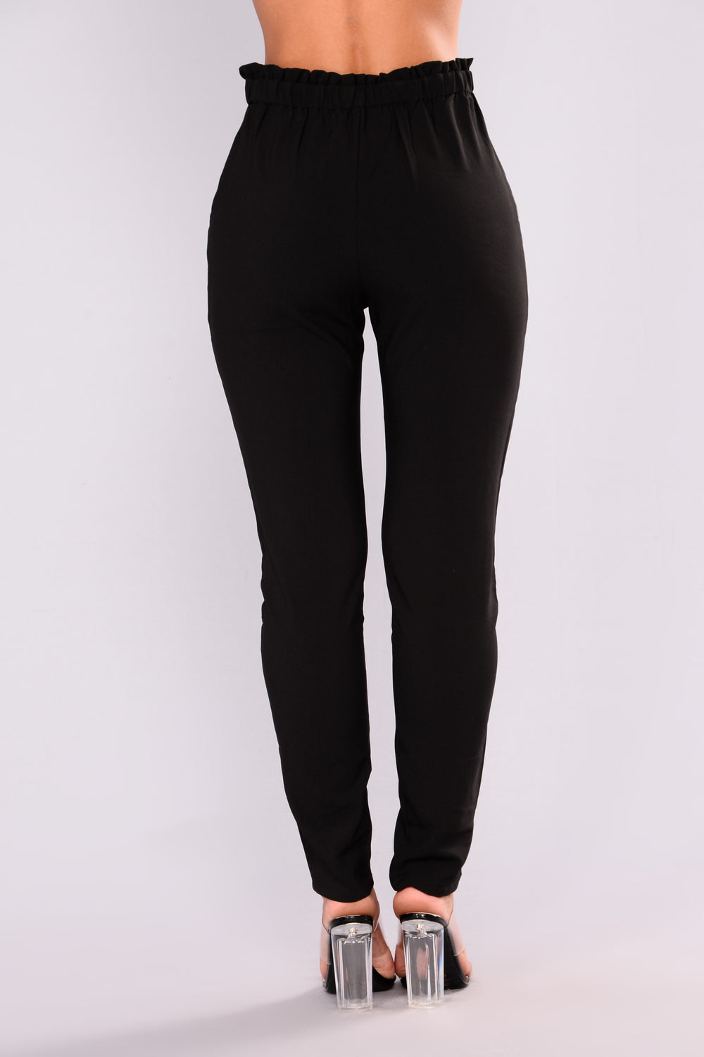 Karisha Jogger Pants - Black