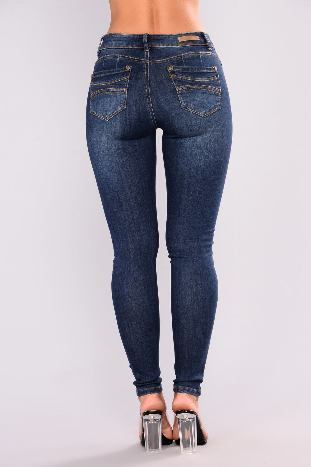Rear In Gear Booty Lifting Jeans - Dark Denim