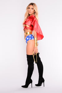 Saving The Day Costume - Red