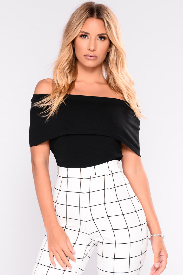 Worth It All Bandage Crop Top - Black