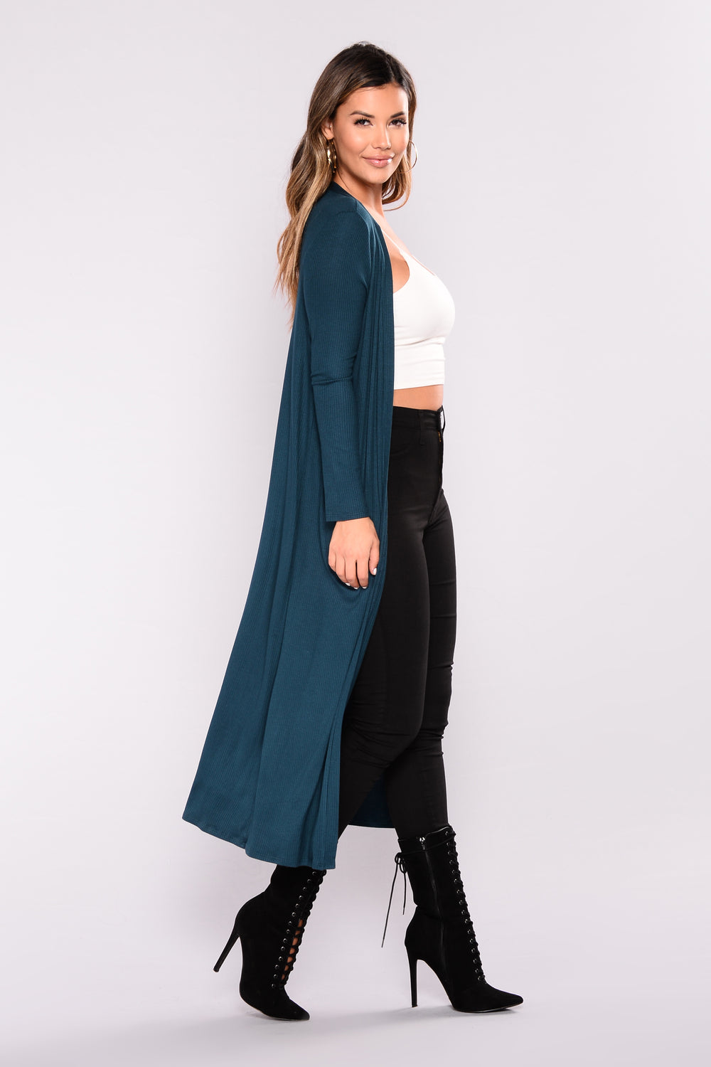 Must Have Basic Duster - Teal