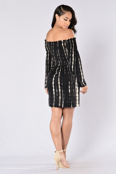 Milestone Dress - Black Multi