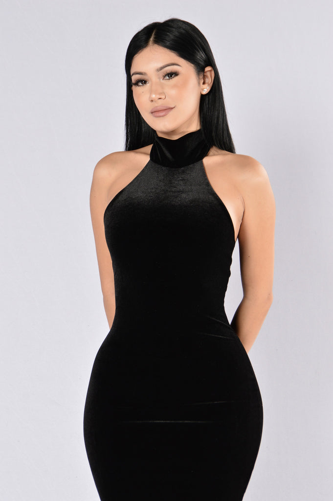 About A Girl Dress - Black