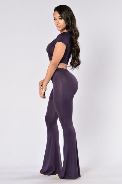 Trippy Chic Set - Plum