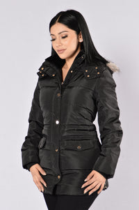 Cuddle Jacket - Black
