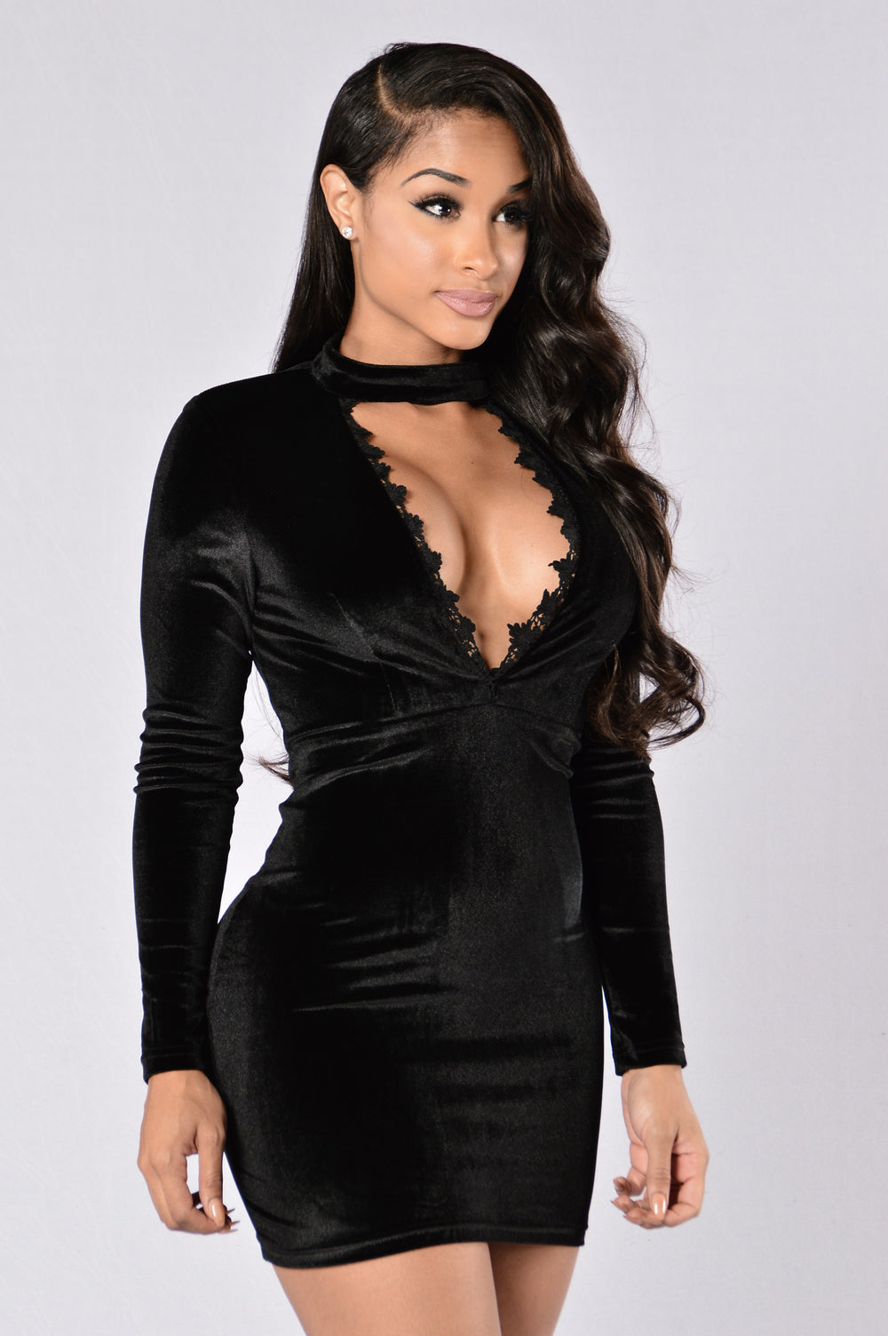 Night of My Life Dress - Black