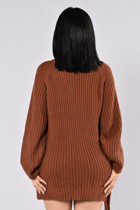 Secret Passage Sweater - Rust