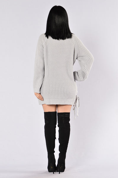 Secret Passage Sweater - Grey