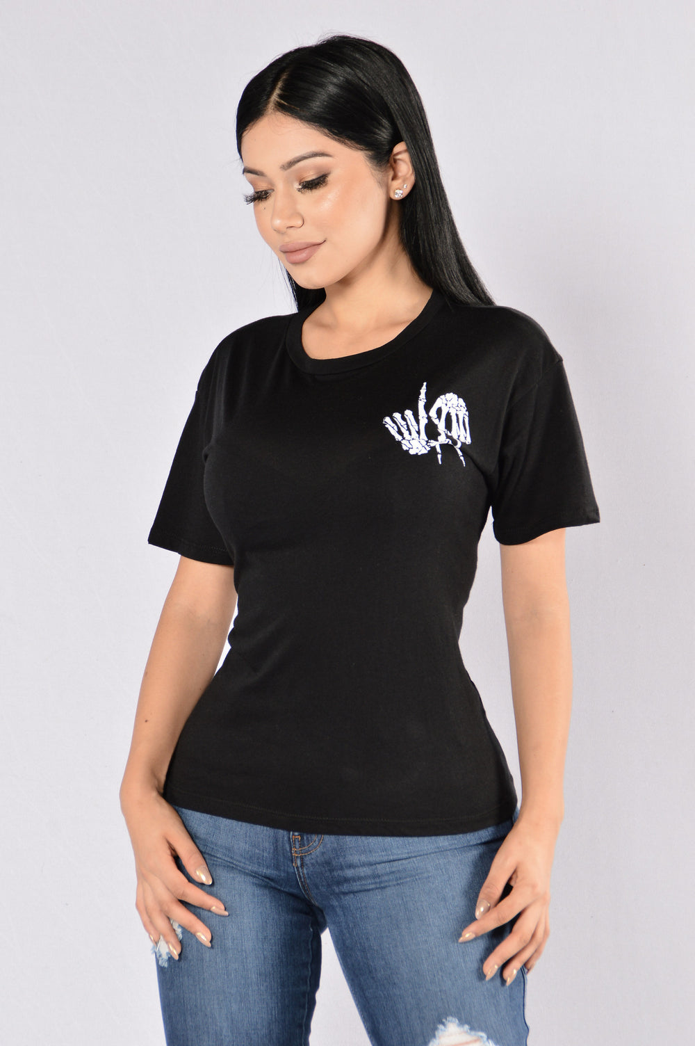 Live And Die In LA Tee - Black